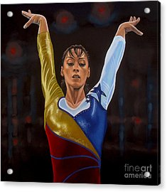 Catalina Ponor Acrylic Print by Paul Meijering