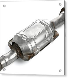 Catalytic Converter Acrylic Print by Science Photo Library
