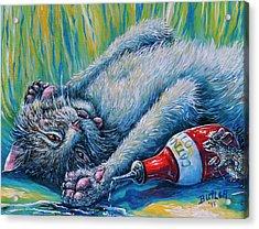 Catatonic Acrylic Print by Gail Butler