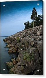Catawba Point Shoreline Acrylic Print