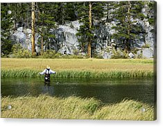 Catch Of The Day - Eastern Sierra California Acrylic Print by Ram Vasudev
