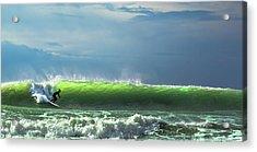 Catch The Wave Acrylic Print