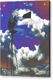 Catch The Wind Acrylic Print