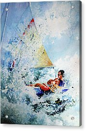 Catch The Wind Acrylic Print by Hanne Lore Koehler