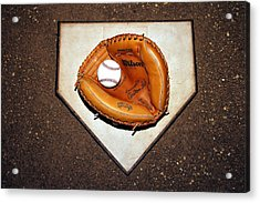 Catcher In The Corn Acrylic Print by Christopher Miles Carter