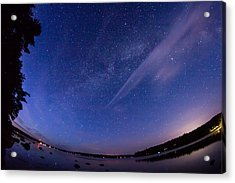 Catching The Milky Way Galaxy Acrylic Print