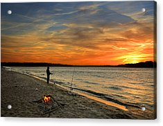 Catching The Sunset Acrylic Print