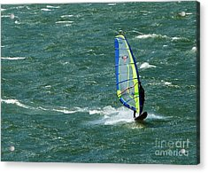 Catching Wind And Surf Acrylic Print