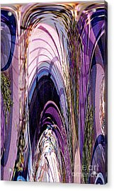 Cathedral 1 Acrylic Print by Ursula Freer