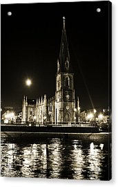 Cathedral At Nine Fifteen Acrylic Print by Tony Reddington