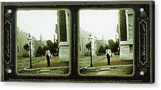 Cathedral, Baltimore, Md. Langenheim Brothers Frederick Acrylic Print by Litz Collection