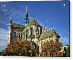 Cathedral Basilica Of The Sacred Heart Acrylic Print by Susan Candelario