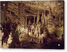 Cathedral Caverns In Woodville Acrylic Print