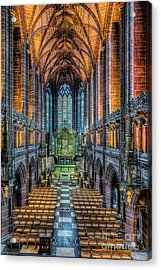 Cathedral Chapel Acrylic Print by Adrian Evans