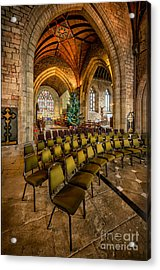 Cathedral Christmas Acrylic Print by Adrian Evans