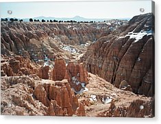 Cathedral Gorge Acrylic Print