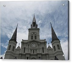 Acrylic Print featuring the photograph Cathedral I by Beth Vincent
