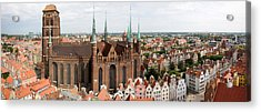 Cathedral In A City, St. Marys Church Acrylic Print