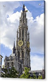 Cathedral In The Sky Acrylic Print by Pravine Chester