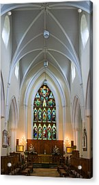 Cathedral Interior Acrylic Print