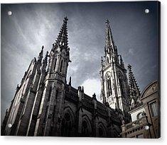 Cathedral Acrylic Print by Kari Espeland