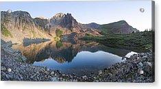Cathedral Lake Reflection Acrylic Print