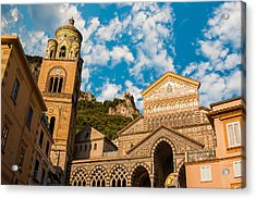 Cathedral Of Amalfi Acrylic Print