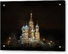 Cathedral Of Basil The Blessed Acrylic Print