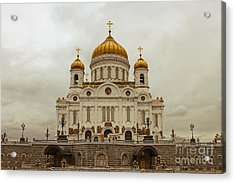Cathedral Of Christ The Saviour Acrylic Print by Lars Ruecker
