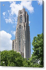 Cathedral Of Learning - Pittsburgh Pa Acrylic Print