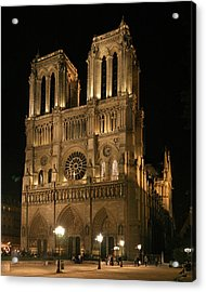 Cathedral Of Notre Dam Acrylic Print by Gary Lobdell