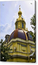 Cathedral Of Saints Peter And Paul Acrylic Print