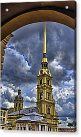 Cathedral Of Saints Peter And Paul - St. Petersburg Russia Acrylic Print