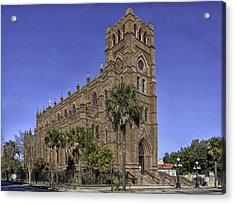 Cathedral Of St. John The Baptist Charleston Acrylic Print by Lynn Palmer