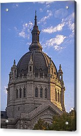 Cathedral Of St. Paul Sunset Acrylic Print by T C Hoffman