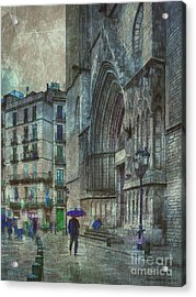 Cathedral Of The Sea Acrylic Print by Pedro L Gili