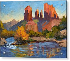 Cathedral Rock 2 Acrylic Print by Diane McClary