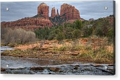 Cathedral Rock Acrylic Print by Darlene Bushue