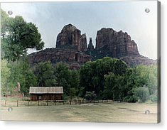 Acrylic Print featuring the photograph Cathedral Rock by Gigi Ebert