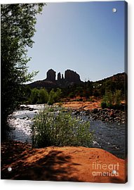 Cathedral Rock Acrylic Print by Mel Steinhauer