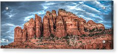 Cathedral Rock Acrylic Print by Ross Henton
