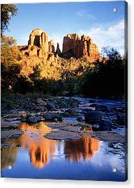 Cathedral Rock Sedona Az Usa Acrylic Print