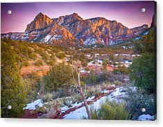 Cathedral Rock Sedona Acrylic Print by Shanna Gillette