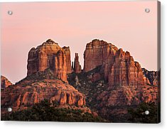 Cathedral Rock Sunset Acrylic Print