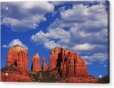 Acrylic Print featuring the photograph Cathedral Rock by Tom Kelly
