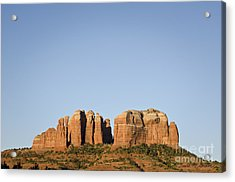 Cathedral Rock Vi Acrylic Print by Dave Gordon