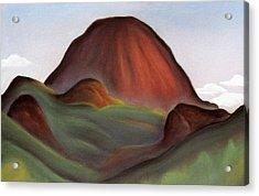 Cathedral Rock Warrumbungle National Park Nsw Acrylic Print