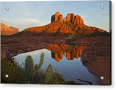 Cathedral Rock's Bath 0299 Acrylic Print
