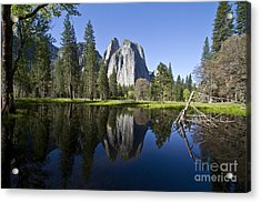 Cathedral Rocks Reflection Acrylic Print