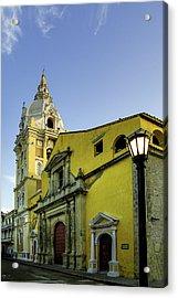 Cathedral Santa Catalina De La Acrylic Print